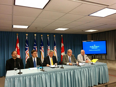 Fisheries Research Press Conference